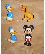 Wind Up Walker Lot Disney Mickey Mouse Donald Duck Pluto Tomy - $24.99