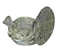 Vintage 79 Glass Crystal Turkey Avon Votive Candle Tea Light Holder Than... - $13.26