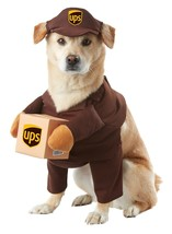 California Costumes UPS Pal Pet Costume- X-Small Brown - £16.19 GBP