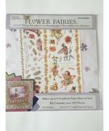 Colorbok Scrapbook Kit Flower Fairies 12x12 Paper 100+ Pieces Floral Mag... - $10.79