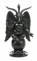 Baphomet Horned Sabbatic Goat Solve et Coagula Statue - $29.69