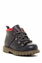 """NEW! Carter's """"Ralph"""" Grey/Red Winter Boot Size 8(Toddler) - £19.46 GBP"""