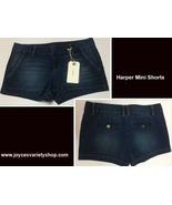 Harper Francesca's Blue Jean Mini Shorts Sz 29 - $14.99