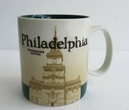 NEW 2011 Starbucks Coffee Mug PHILADELPHIA Pennsylvania City Collector S... - $46.74