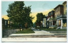 3rd Avenue Street Scene Louisville Kentucky 1907c postcard - $6.88