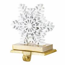 Darice Christmas Snowflake Stocking Hanger: 5 x 5.98 inches w - $18.99