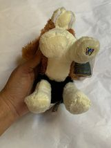 Ganz Webkinz Shaggy Brown White Basset Hound Puppy Dog Stuffed Plush Animal 9in image 8