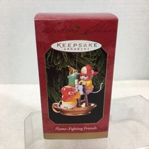 1999 Flame Fighting Friends Hallmark Christmas Tree Ornament MIB Price T... - $12.38