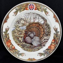 """1 Queen's Harvest Bounty Charger 12 1/8"""" China England Original Stickers... - $29.69"""