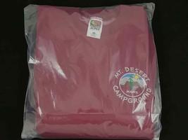 Mt Desert Campground Sweatshirt ~ Fruit of the Loom ~ Size Medium ~ Burg... - $18.65