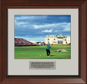 Primary image for John Daly unsigned 16X20 Custom Framed 1995 British Open