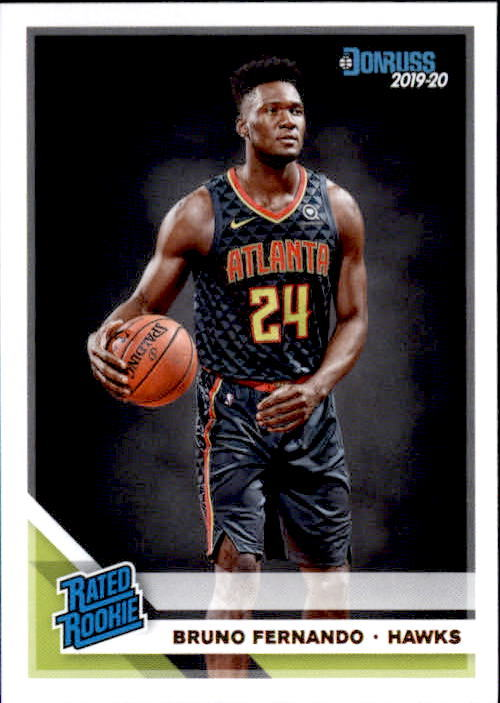 Primary image for Bruno Fenando 2019-20 Donruss Rated Rookie Card #232