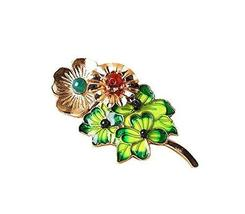 [GREEN Leaves] Clothing Accessories Easy Matching Brooch Pin