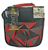 Arctic Zone Insulated Geometric Lunch Box Includes Container, Bottle, & ... - $12.19