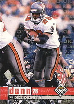 1998 Upper Deck UD Choice Choice Reserve #255 Warrick Dunn > Buccaneers >  - $2.49