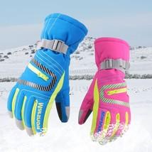 Winter Professional Ski Gloves Girls Boys Adult Waterproof Warm Gloves S... - $17.99