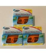 DenTek Floss Picks Lot of 3 On The Go Travel Case Mint Flosser 12 Each 3... - $15.99