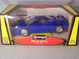 Bugatti EB 110 1:18 scale diecast Burago Bburago Special Collection - $36.31
