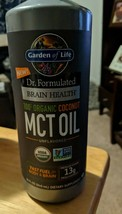 Garden of Life Dr.Formulated Brain Health MCT Oil Unflavored 32 fl oz 07... - $32.67
