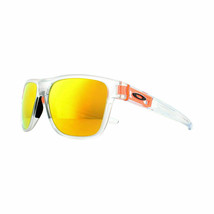 Oakley Sunglasses Crossrange XL OO9360-18 Matte Clear Fire Iridium - $98.99