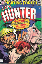 Our Fighting Forces Comic Book #105 Capt. Hunter, DC Comics 1967 FINE+ - $21.20