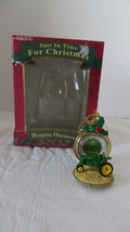 Enesco Just in Time For Christmas John Deer Pocket Watch Christmas Ornament - $10.39