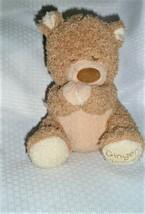 """Bright Starts - Ginger Bread Praying Tan Brown Bear Plush """"Now I Lay Me"""" Plush - $69.29"""