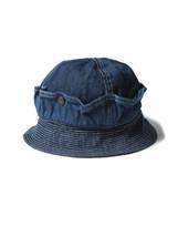 Kapital 11.5 oz denim bush HAT Indigo Made in Japan - $199.99
