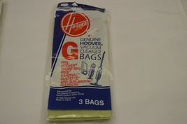 7 Pack Genuine Hoover Style G Vacuum Cleaner Bags NEW  - $9.89