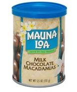 3 Cans - Mauna Loa Chocolate Covered Macadamia Nuts 5.5 oz - $40.95