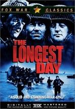 Longest Day - Fox War Classics DVD ( Ex Cond.) - $9.80
