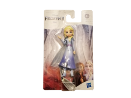 "Disney Frozen II(2) *ELSA* 4"" Mini Figure Doll with Removable Cape"