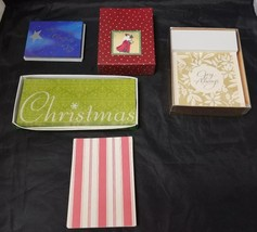 Hallmark Christmas Cards, Creative Papers, Marcel Schurman, PMG Cards, S... - $24.18