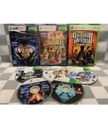 (Lot de 8) Xbox 360 Jeux Vidéo Kinect Adventures Fable Journey Madden Xcom - $20.82