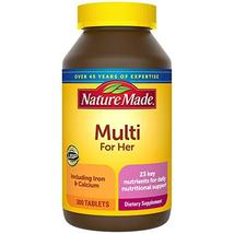 Nature Made Women's Multivitamin Tablets, 300 Count for Daily Nutritional Suppor - $32.78