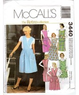 McCall's 3440 Misses' Aprons The Retro Collection All Sizes in One (8-22... - $12.47