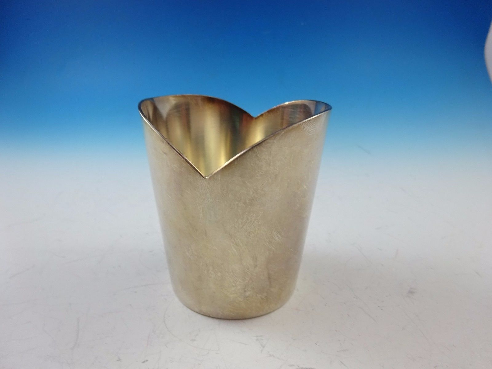 Silverplate Toothpick Holder by Christofle