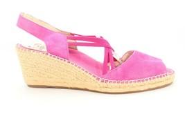 Abeo Delano Espadrille  Fuchsia  Sandals  Women's Size 8 Neutral Footbed () - $93.15