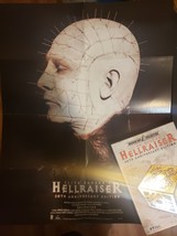 Hellraiser 20th Anniversary Best Buy Exclusive complete with poster DVD image 3