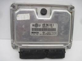 Ecu Ecm Computer Vw Passat 2002 02 2003 03 07D906018E 633208 - $93.80