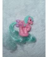 Vintage G1 My Little Pony Petite Pony Pink Brush & Comb 1989 Ponytail Ti... - $21.77