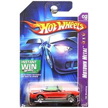 Hot Wheels 2007 Motown Metal 1965 65 '65 Ford Mustang Convertible Red In... - $17.77