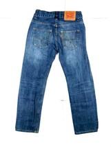 Levis 514 Boys Jeans Adjustable Waist 24x25 Straight Distress Denim Pant... - $24.57
