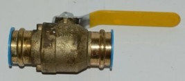 CMi 1 1/4 Inch Lead-Free Brass Full Port Ball Valve Cold Working Pressure image 1