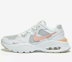 Nike Air Max womens Fusion White Gray Women's Shoes - CJ1671 101 size 7 - $54.95