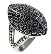 925 Sterling Silver Marquise Shape Ring»R11 - $29.95