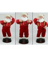 Jingle Bell Rock Santa Edition 1 Retired Animated Dancing Swaying Hips C... - $29.10