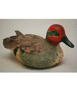 Colorful Duck Bird Small Resin Figurine Curio Cabinet Shelf Decor c - $9.89