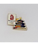 2008 Beijing Olympic Games Lapel Hat Pin - Old City Historic Building - $8.90