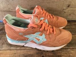 Asics Gel-Lyt V Ostern Packung Koralle Schuhe Größe 6.5 H504K - $49.36